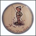 The Little Fisherman Collector Plate by Berta Hummel MAIN