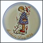 Devotion For Mother Collector Plate by Berta Hummel