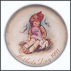 Soft And Gentle Collector Plate by Berta Hummel