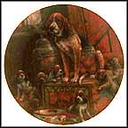 Plum Tuckered Out Collector Plate by Lowell Davis