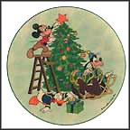 Sneak Preview Collector Plate by Disney Studio Artists MAIN
