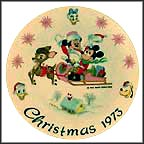 Sleigh Ride Collector Plate by Disney Studio Artists MAIN