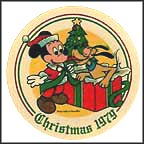 Santa's Surprise Collector Plate by Disney Studio Artists