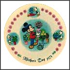 Flowers For Mother Collector Plate by Disney Studio Artists