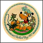 Pluto's Pals Collector Plate by Disney Studio Artists