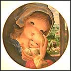 Pastoral Mother And Child Collector Plate by Juan Ferrandiz Castells