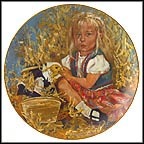 Star's Autumn Collector Plate by Jessica Zemsky