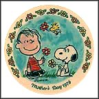 Linus And Snoopy Collector Plate by Charles Schulz