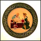 The Candy Store Collector Plate by Prescott W. Baston