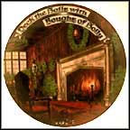 Deck The Halls Collector Plate by Stluka
