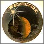 O Holy Night Collector Plate by Stluka