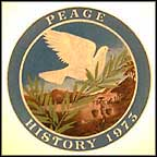 Peace In Vietnam Collector Plate by Stluka