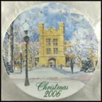 Kauke Hall, College of Wooster Collector Plate by David Coolidge