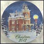 Hower House in Akron, Ohio Collector Plate by David Coolidge