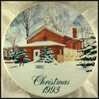 Wayne Township School #3 Collector Plate by David Coolidge MAIN