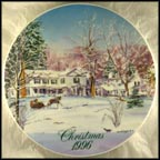 Malabar Farms 'Big House' Collector Plate by David Coolidge MAIN