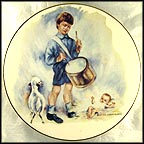 Little Drummer Boy Collector Plate by Brother Cosmas
