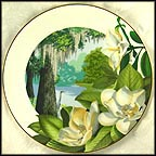 Southern Magnolia Collector Plate by Ralph Mark MAIN