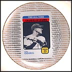 Lou Gehrig: The All-Time Grand Slam Leader Collector Plate