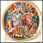 Larry Bird Collector Plate by Joseph Catalano
