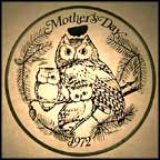 Horned Owl Collector Plate