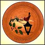 Countryside Collector Plate by Mary Jane Hillegass