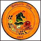 Mother And Cradle Collector Plate by Mary Jane Hillegass MAIN
