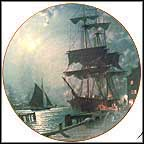 Waiting For The Dawn - artist signed Collector Plate by John Stobart MAIN