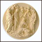 The Raising Of Lazarus Collector Plate by Albertu Santangela