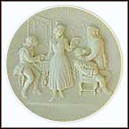 Barber Of Seville Collector Plate by Gino Ruggeri