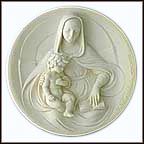 Wise Madonna Collector Plate by Alberto Santangela