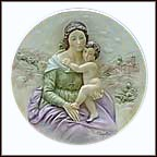The Gift Of Devotion Collector Plate by Albertu Santangela MAIN