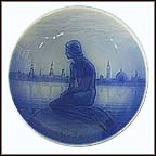Mermaid Of Copenhagen Collector Plate by Edvard Eriksen