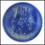 The Fir Tree Collector Plate by Svend Otto