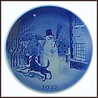 The Snowman Collector Plate by Svend Otto