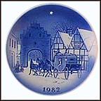 Twelve By The Mailcoach Collector Plate by Svend Otto