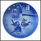 The Story Of The Year Collector Plate by Svend Otto