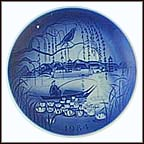 The Nightingale Collector Plate by Svend Otto