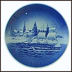 Kronborg Castle, Kolger The Dane Collector Plate by Svend Otto