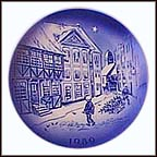 The Old House Collector Plate by Svend Otto