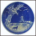 The Windmill Collector Plate by Svend Otto