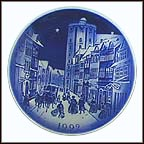 The Round Tower Collector Plate by Svend Otto