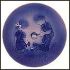 Little Friends Collector Plate by Mads Stage