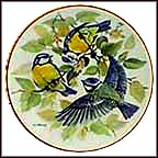 Blue Titmouse Collector Plate by Ursula Band