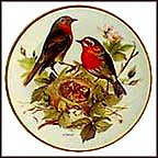 Red Robin Collector Plate by Ursula Band MAIN