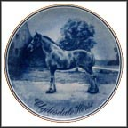 Clydesdale Collector Plate by Poul T. Christensen