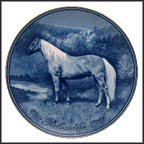 Palomino Collector Plate by Poul T. Christensen MAIN