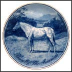 Pony Of The Americas Collector Plate by Poul T. Christensen