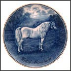 Welsh Mountain Collector Plate by Poul T. Christensen MAIN