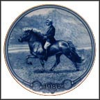 Icelandic Pony Collector Plate by Poul T. Christensen MAIN